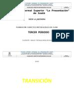 3 Periodo Planeacion . 2019 Matematicas