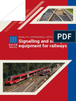Signaling andf Safety Equipment for Railway.