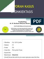 Bronkiektasis - Arief