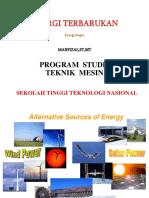 Energi Terbarukan Pertemuan 3
