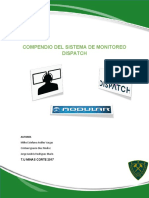 Compendio Sistema de Monitoreo Dispatch
