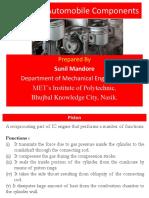 Design of Automobile components