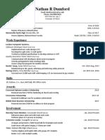 resume-nathan dumford