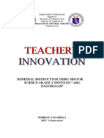 Teachers Innovation