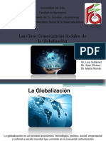 Consecuencias de La Globaliacion