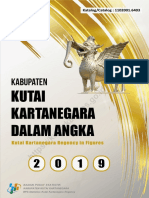 Kabupaten Kutai Kartanegara Dalam Angka 2019
