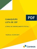Guia de CEPs Camaquã/RS