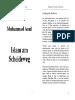 Islam Am Scheideweg (Muhammad Assad)