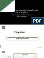 6. Clasificaciones Diagnósticas CIE 10 y DSM 20119