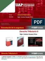 Presentacion Derecho Tributario II