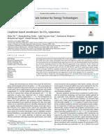 Graphene-based Membranes for CO2 Separation