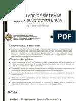 U1.Modelado de Líneas de Transmisión y Transfomadores Para Analisis Est.
