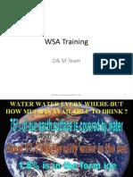 WSA Training 050211