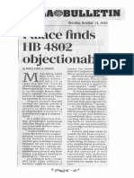 Manila Bulletin, Oct. 21, 2019, Palace finds HB 4802 objectionable.pdf