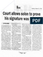 Malaya, Oct. 21, 2019, Court allows solon to prove his signature was forged.pdf