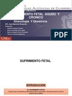 sufrimiento fetal agudo y cronico
