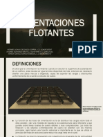 cimentaciones flotantes