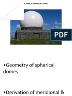 Structural Analysis of Domes