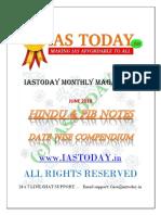 HINDU & PIB NOTES