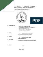 Pruebas de Selección y Test Psicotécnicos Monografia