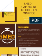 SMED – Cambio de Moldes en Minutos