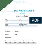 4 -Shapes of Molecules Ions-open-response Qp