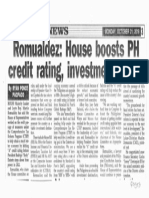 Peoples Tonight, Oct. 21, 2019, Romualdez House boosts PH credit rating, investment image.pdf
