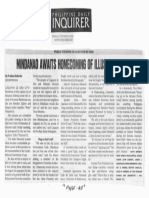 Philippine Daily Inquirer, Oct. 21, 2019, Mindanao awaits homecoming of illutrious son.pdf