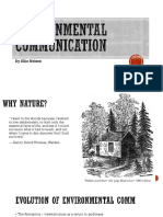 Environmental Communication Powerpoint