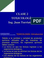 Clase 2 Toxicología PI 555 A