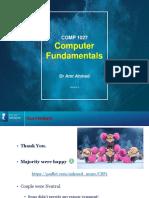 CSF_Lec 2-Evolution of Computers