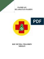 panduan keselamatan pasien