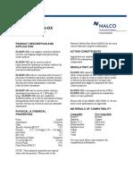 Product Bulletin ELIMIN-OX En