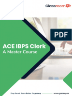 Study Plan Ace Ibps Clerk 53