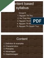 77570771 Content Based Syllabus 2 2