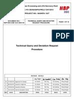 NGP 000 COM 15.81 0001-00-00 Technical Query and Deviation Request Procedure