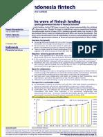 Indonesia Fintech (the Wave of Fintech Lending) 20191015