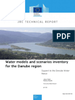 Water Models and Scenarios Inventory for the Danube Region - 2015