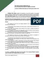 Inheritance, Wills & Adjudication of Estate