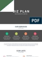 Biz Plan Free Powerpoint Template.pptx
