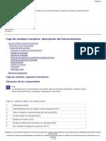 Fh4 Caja de Cambios, Tablero de Instrumentos