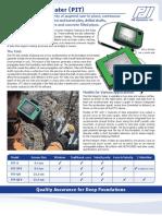 Katalog Pile Integrity Tester-PDI