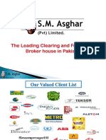 S.M. Asghar Company Profile