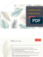 Indiworth Resources Profile