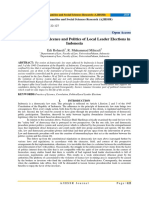 The Practices of Licence and Politics of Local Leader Elections in Indonesia