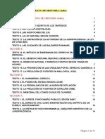 Comentarios de Texto Historia Del Derecho