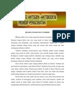 reaksi antigen dan antibodi