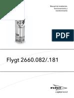 Manual de Instalación, Funcionamiento y Mantenimiento Bomba Poza Contenc...