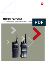 Motorola MTX900 & MTX960