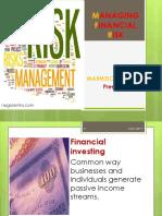 Managing Financial Risk 8-25-19
